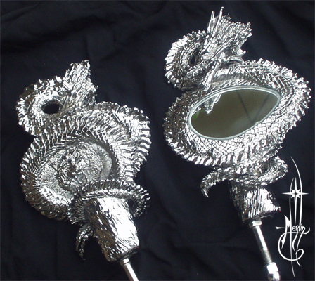 Dragon Motorcycle Mirrors